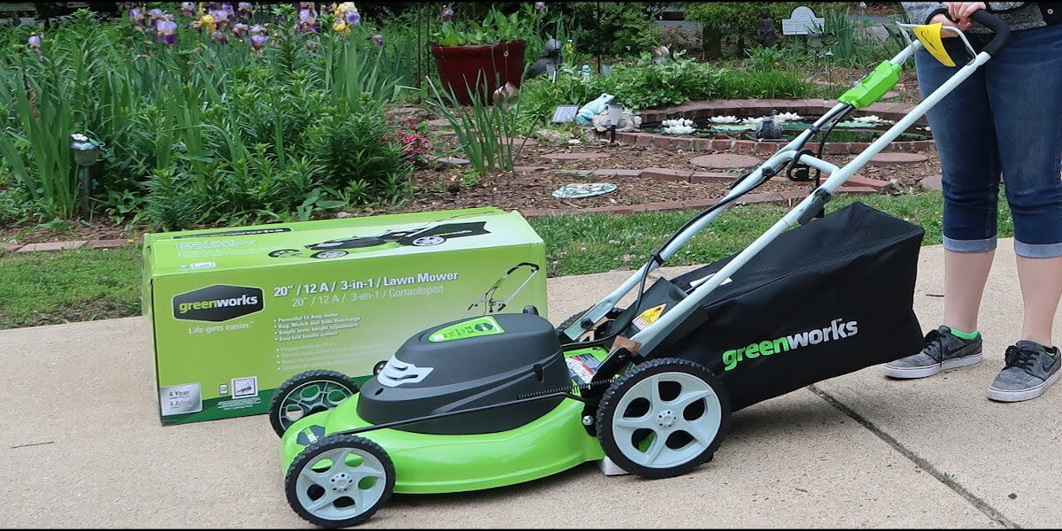 GreenWorks 25022 Review – Electric Lawn Mower