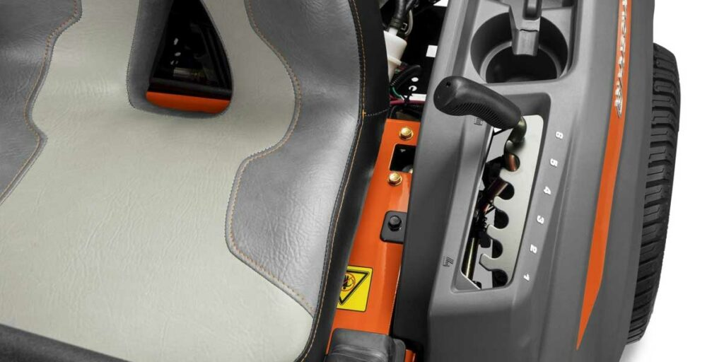 Ergonomic Control and Instrument Panel - Husqvarna Z248F