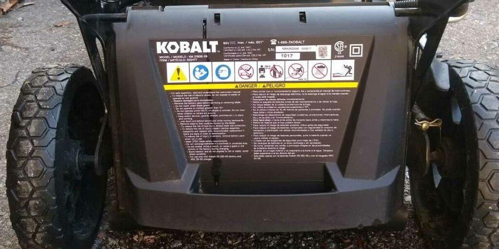 Kobalt KM2180B-06 - Power And Peformance