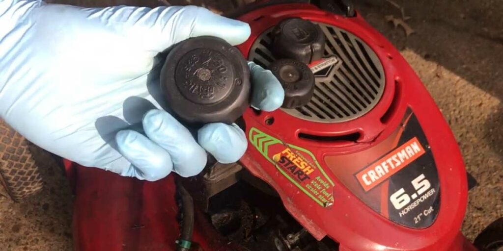 Blocked Gasoline Cap
