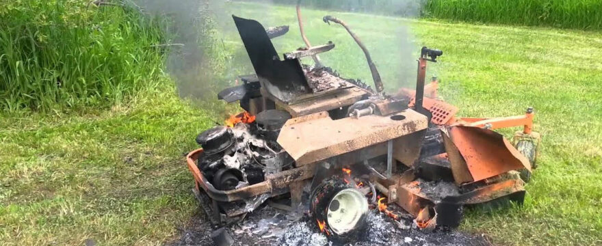Causes Of Lawn Mowers On Fire