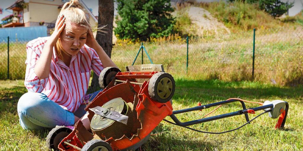 """Minor Causes """"Lawn Mower Won't Restart When Hot."""""""