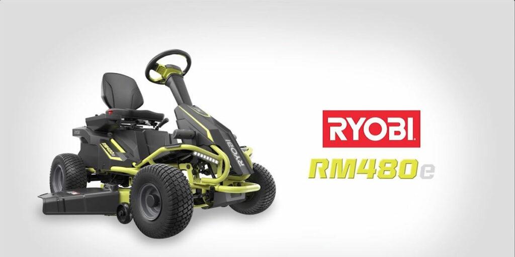 Ryobi RM480E Design